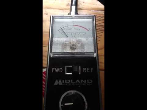 Cb Radio Swr Checks Sunday 20131027 1246 Pm Cst Using A Midland 23