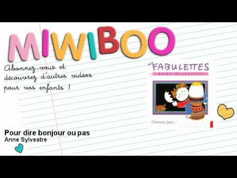 Anne Sylvestre - Pour dire bonjour ou pas - Miwiboo