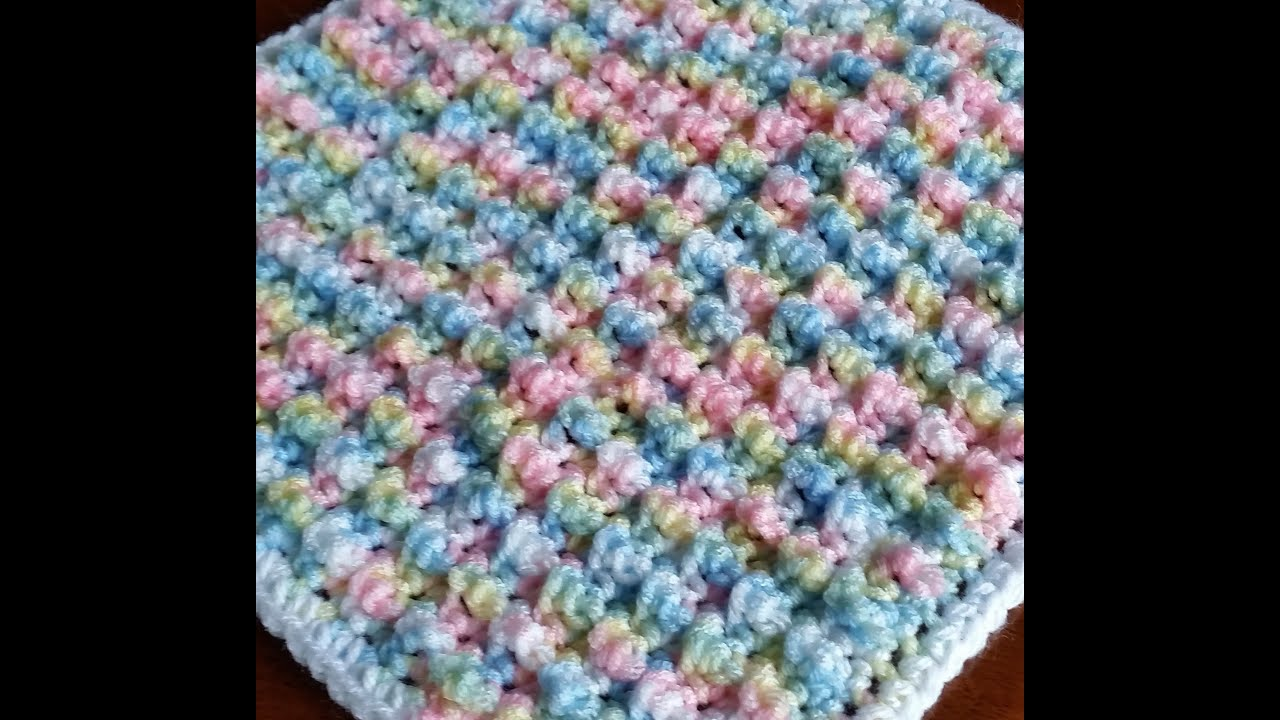 Baby Blanket Crochet Pattern Free Easy