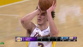 Lonzo Ball Lowlights 2017-11-5 Memphis Grizzlies vs Los Angeles Lakers