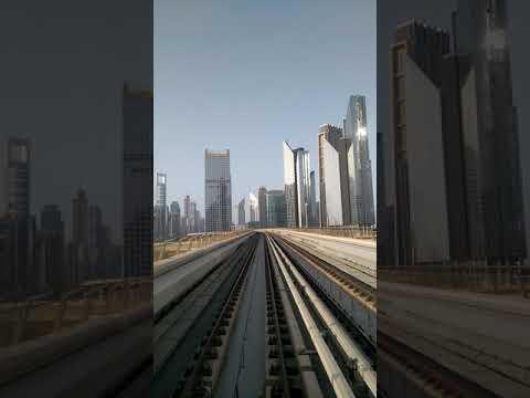 Dubai metro awesome