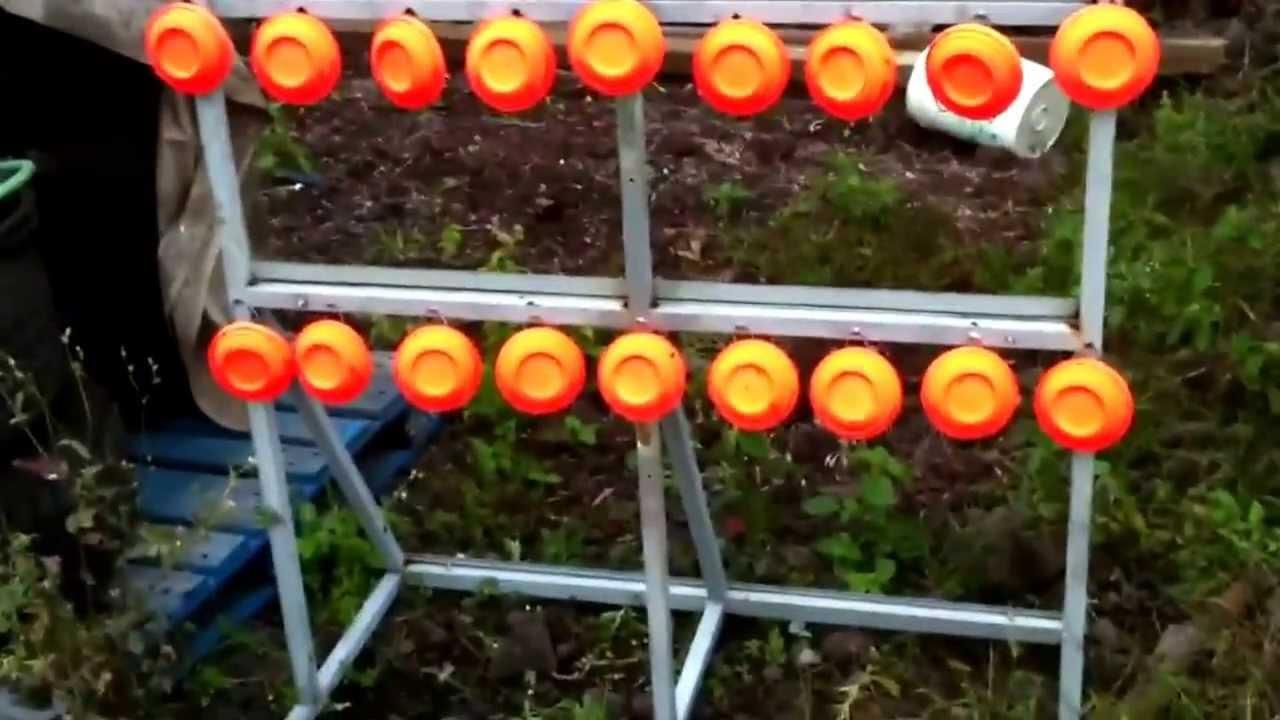 Homemade Shooting Target For Range Or Backyard Use Youtube