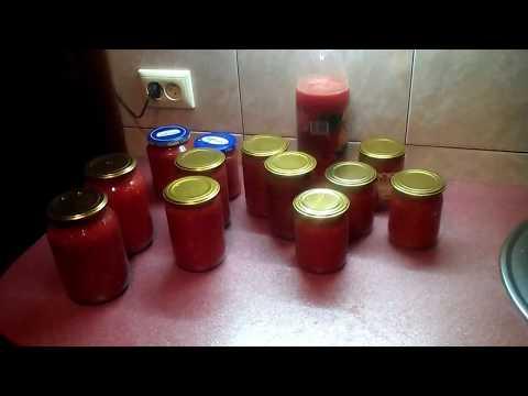 Сырая аджика из помидор и чеснока и хрена на зиму без варки