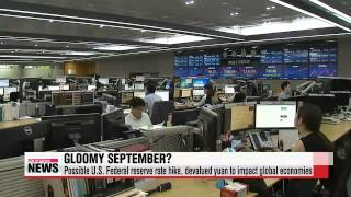 Turbulent September for global economy   9월 경제위기설