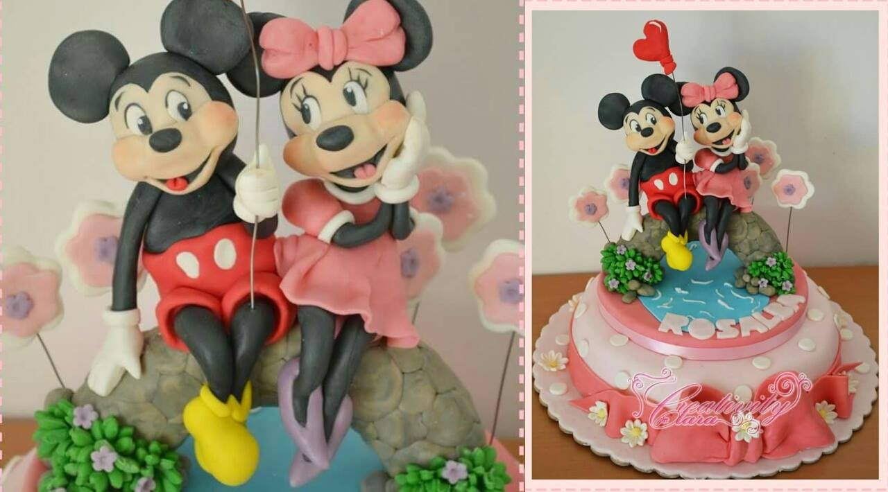 Mickey Mouse Fondant Cake Topper Tutorial