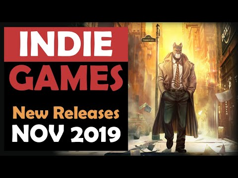 Indie Games New Releases for November 2019 Part 1