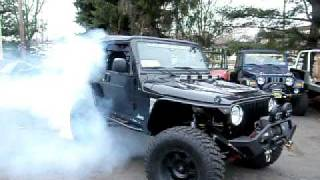 Kryptonite Customworks CHAOS 666 Jeep Wrangler TJ 527RWHP/511RWTQ SuperCharged Hemi 5.7L