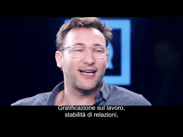 Simon Sinek sui Millennials
