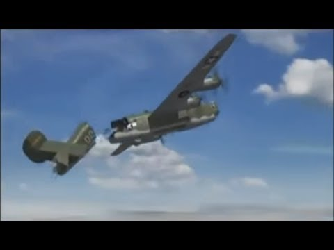 """Deadliest Missions of The Luftwaffe:"""" The Flying Battering Rams"""" Part 2"""