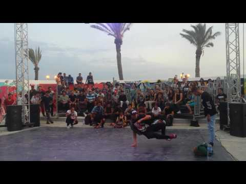BBoy hamdi vs  D12 (UK CHAMPIONSHIPS NORTH AFRICA TUNISIA 2016)