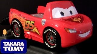 Cars 2 Driving Lightning McQueen Racing Tomica Takara Tomy Baby toys for Children DisneyPixarCars