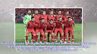 Länderspiel zwischen Türkei und Bosnien-Herzogowina heute live im TV und Livestream