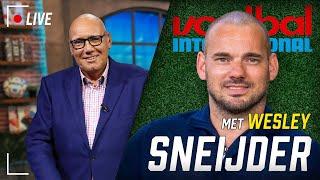 Voetbal International LIVE met Wesley Sneijder