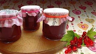 видео Быстрый конфитюр из вишни и смородины. Рецепт
