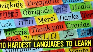 Top Hardest Languages Learn World