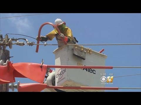 Oncor Workers Talk Of Beating The Heat
