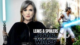 The Rise Of Skywalker Shocking Leia Scene! Leaked Details Revealed (Star Wars Episode 9)