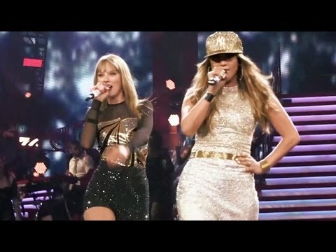 "Jennifer Lopez & Taylor Swift  - ""Jenny from the Block"" live at Staples Center"