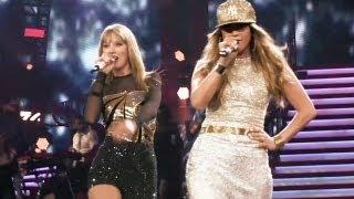 Jennifer Lopez & Taylor Swift - Jenny from the Block live at Staples Center