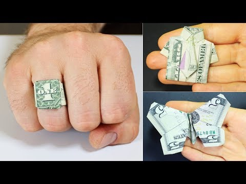 COOL AND FAST DIY PROJECTS WITH DOLLAR BILL