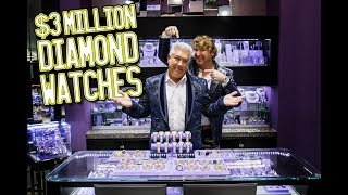 $3million Diamond Watches