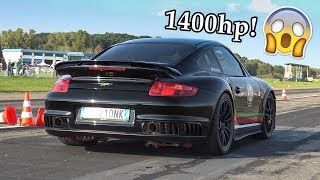 997 Porsche 9ff with 1400hp makes 360km/h after 1