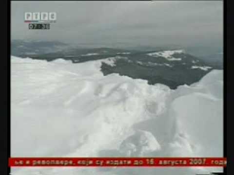 Jahorina - pogled sa vrha Republike Srpske 15.12.2009. †