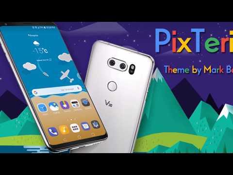 PixTerial Theme for LG V30 & LG G6 – Apps on Google Play