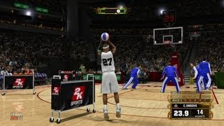 NBA 2K13 My Career - 3 Point Contest