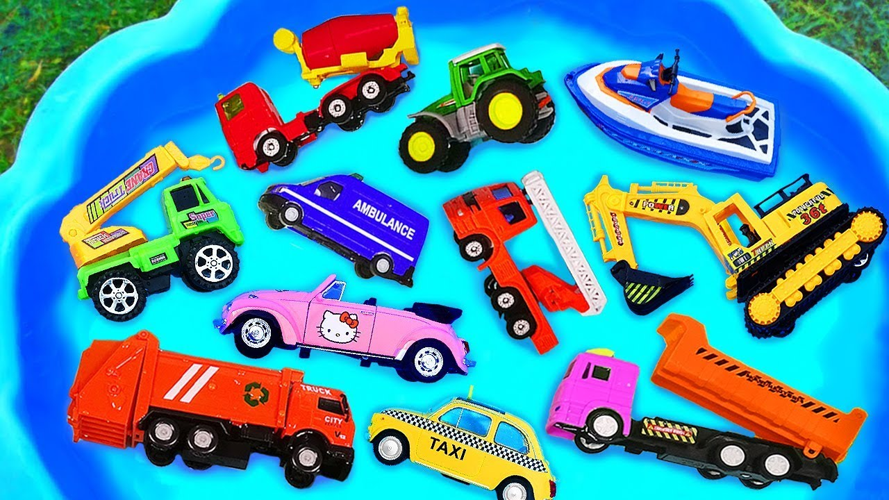 Cars For Kids Toys Review And Learning Name And Sounds Construction