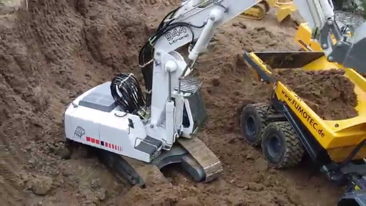 Excavator Real is it Real rc Excavator The