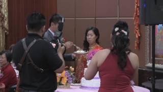 Sue & Andy Wedding - Cake Cutting