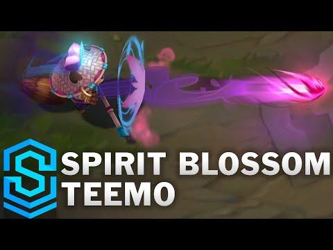 Spirit Blossom Teemo Skin Spotlight - League of Legends