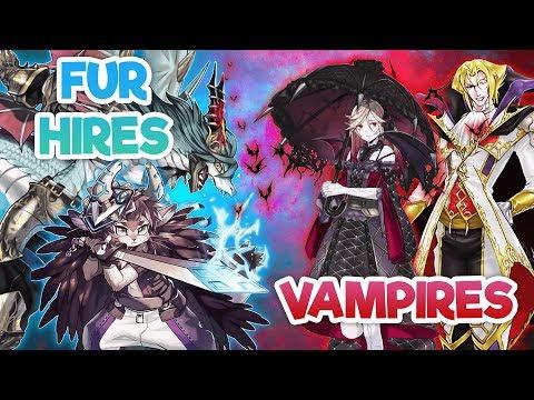 Yu-Gi-Oh! FUR HIRES Vs VAMPIRES Live Duel!