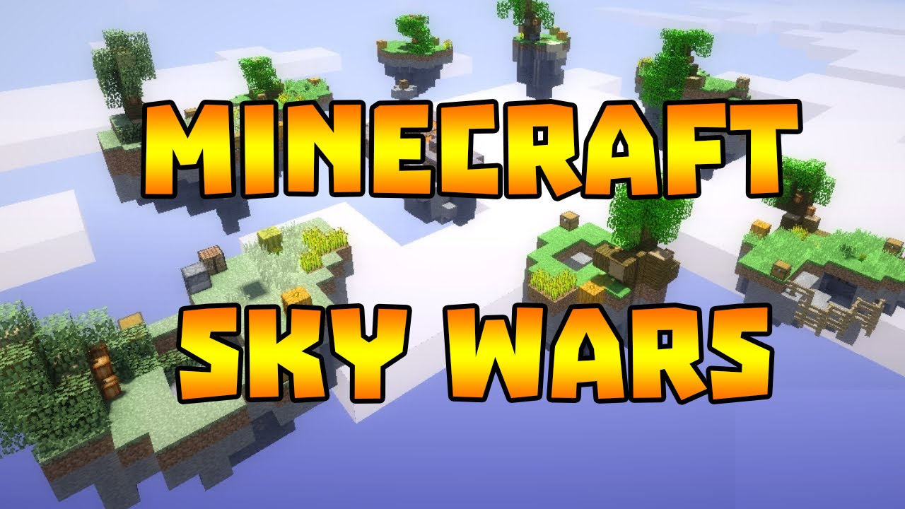 Minecraft - Sky Wars PARTIDA LOKA GANHEI?! - YouTube