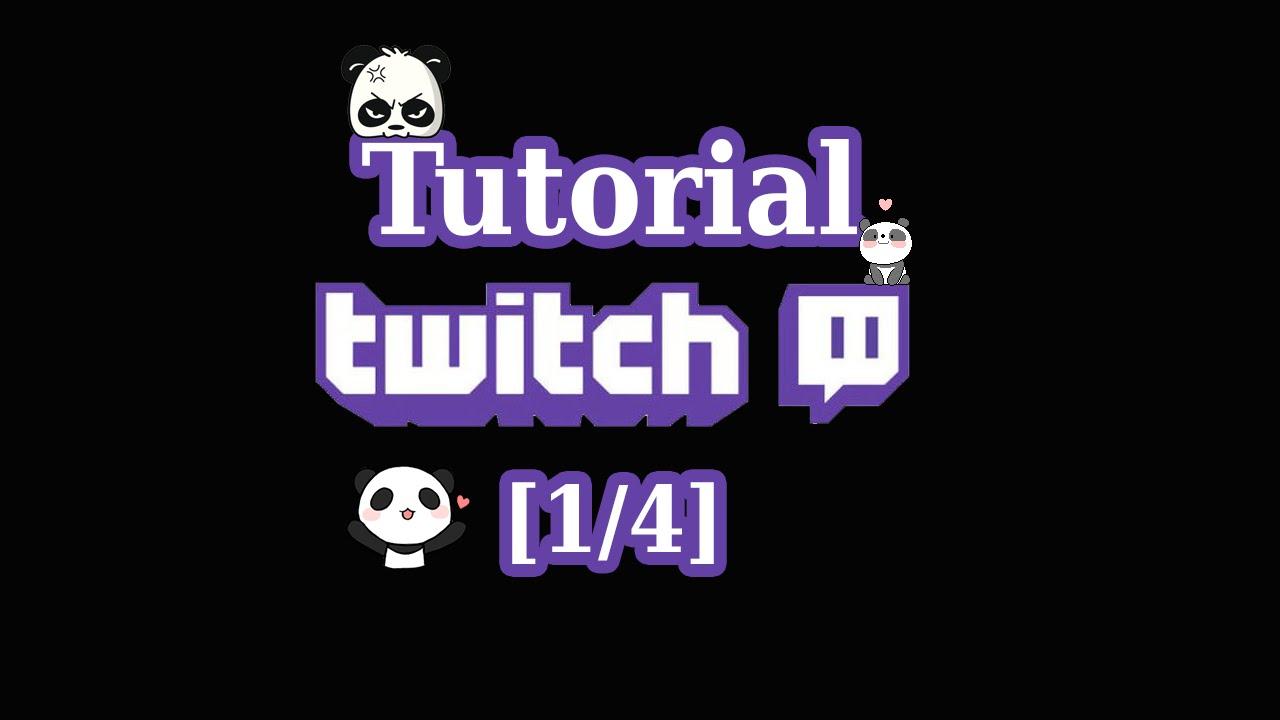 Twitch Stream Tutorial German