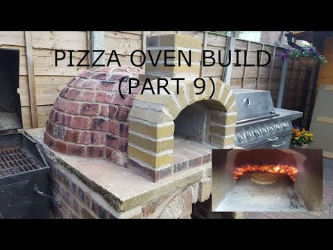 AMAZING Outdoor Pizza Oven (part 9) - commissioning and first cook