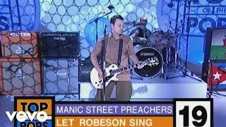 Music video by Manic Street Preachers performing Let Robeson Sing. ...
