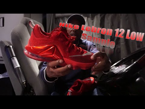 812bed77a20 Nike Lebron 12 Low Un-Released Samples