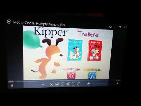 Mother Goose Stories: Humpty Dumpty DVD Menu Walkthrough