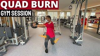 How to Build Leg Strength   Leg Workout (Gym Episode 1)