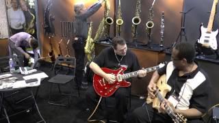 Kenn Smith e Altri Musicisti - Namm 2015 - Lupifaro Sax e Lengardo Guitars