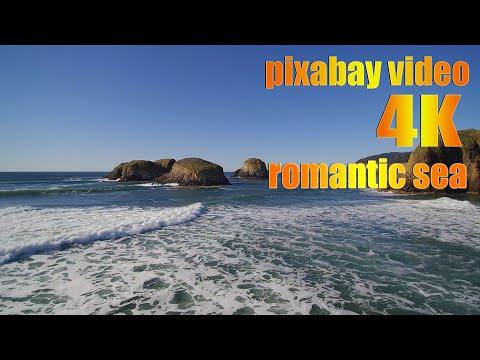 #pixabay видео 4к с дрона романтика море romantic sea