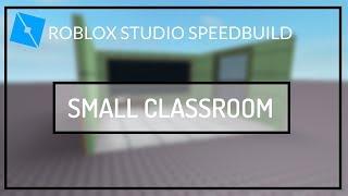 Kleines Klassenzimmer | ROBLOX Studio Speedbuild