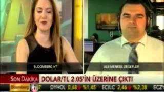 ALB Forex'ten Enver Erkan dolar piyasalarını değerlendiriyor. Bloomberg HT