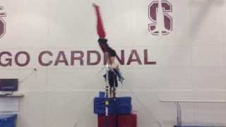 Harch PL8   HIGH BAR PRACTICE   Sep 23 2014