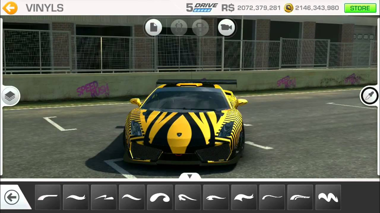 Real Racing Car Customization Lamborghini Gallardo