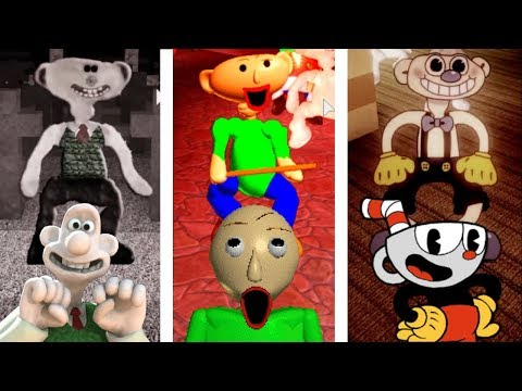 BALDI, WALLACE, AND CUPHEAD TEAM UP AS BEARS!! | The Weird Side Of Roblox: Bear