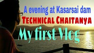 Lifestyle vlog#1 A evening at Kasarsai dam | Best picnic spot Pune |  Technical Chaitanya Vlogs