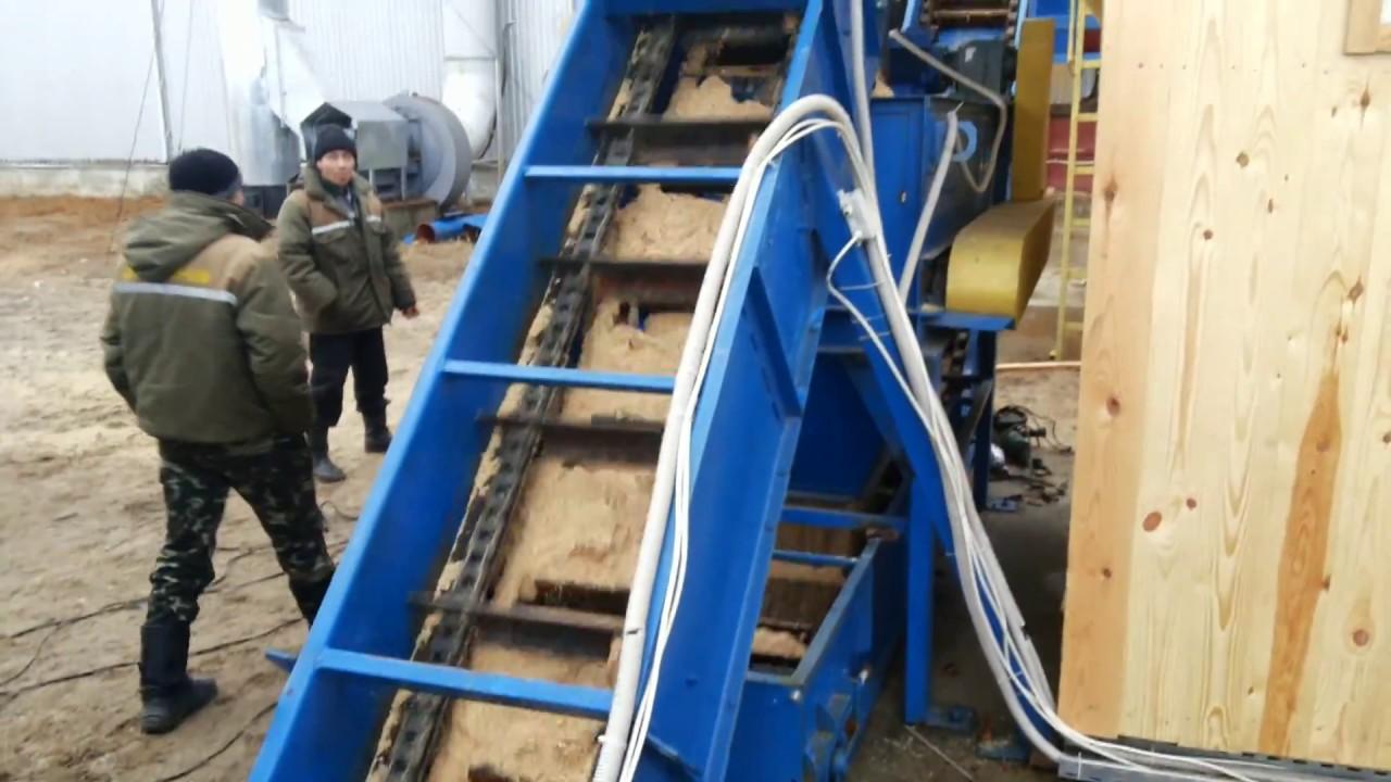 Транспортер конвейер цепной ремонтные работы элеватора